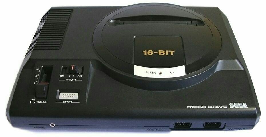 سگا مگا درایو؛ یک کنسول 16 بیتی